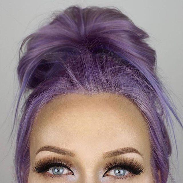 Arctic Fox hair color - Purple Rain and Arctic Mix