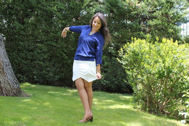 DIY Ropa cómo hacer la falda de picos