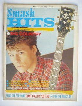Smash Hits magazine - Stuart Adamson cover (26 May - 8 June 1983)