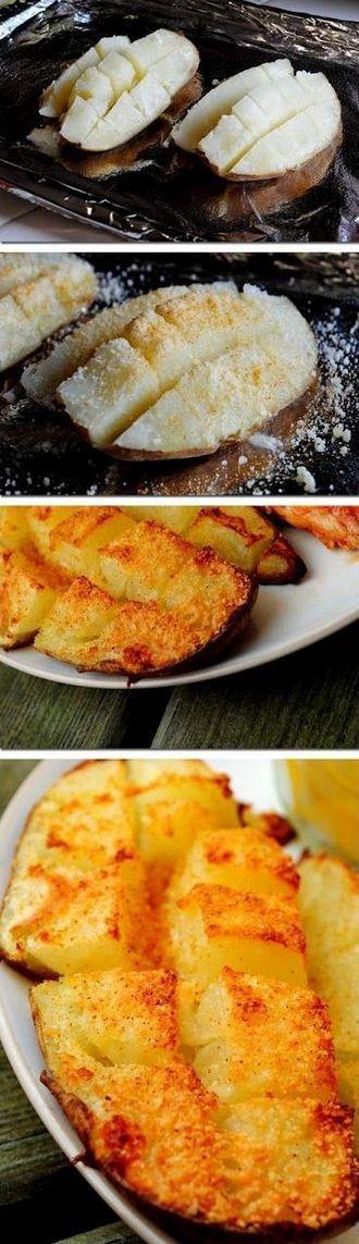 Scored Potatoes