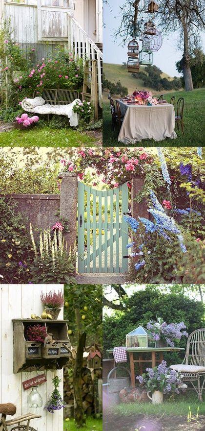 Romantic garden   Romantische tuin