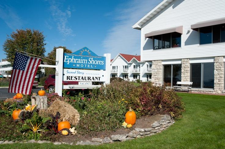 Ephraim Shores: our favorite Door County resort!