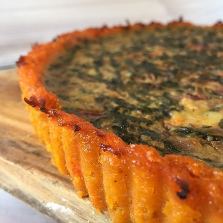 :) Cómo hacer una tarta con base de calabaza, ¡sin harina! | Más en https://lomejordelaweb.