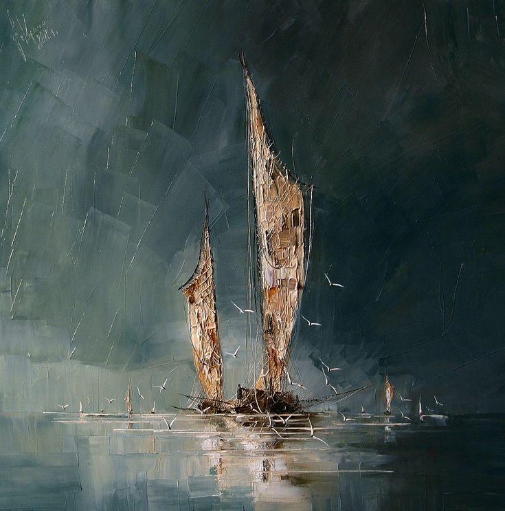 Les 25 meilleures id es concernant peinture technique for Peinture interieur bateau