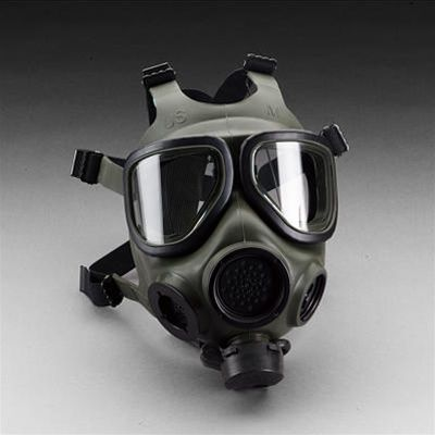 3M FR-M40 Gas Mask Full Facepiece Respirator and Filter