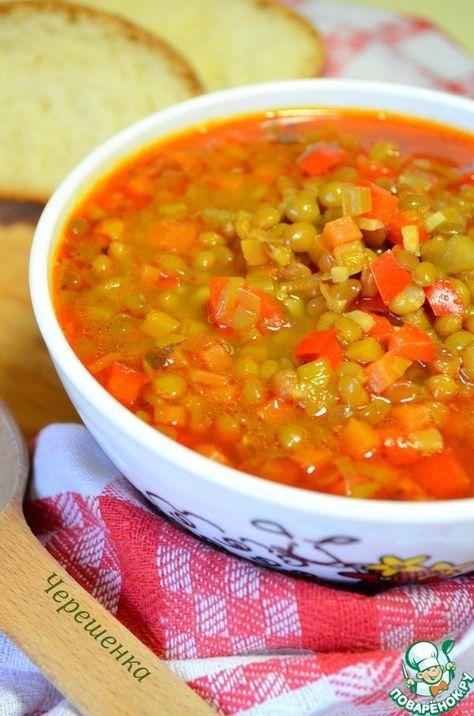 """Постный суп с чечевицей """"Супа лешта"""" - кулинарный рецепт"""