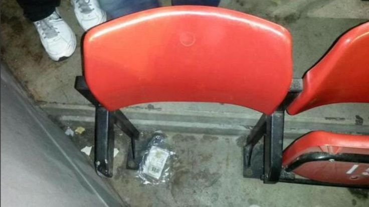 Yes, someone paid for this seat. The worst seat in the #PremierLeague. #Arsenal #Liverpool #Antfield #soccerstadiums #stadiums #antfieldstadium