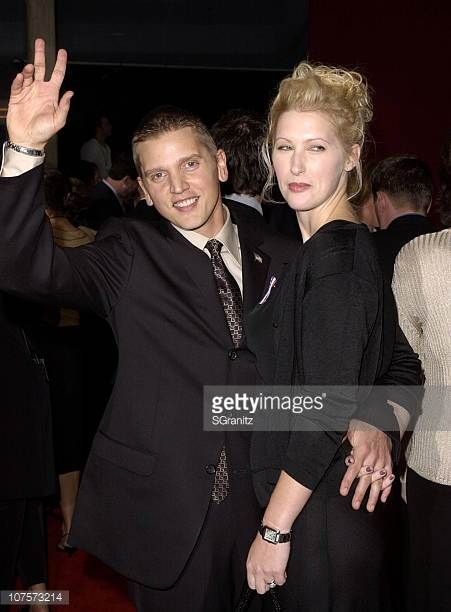 Best Supporting Actor in a miniseries Barry Pepper and wife Cindy arrive for the 53rd Annual Primetime Emmy Awards