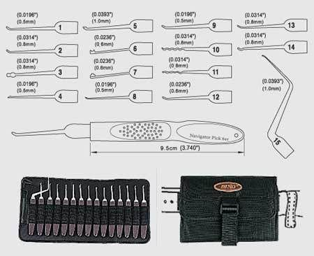 36 best entry tools images on pinterest lock picking urban dino navigator lock pick set this pick set was designed for locks with very tight maxwellsz