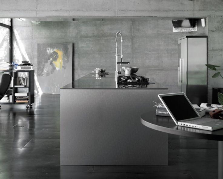 Modern Industrial Kitchen Design Ideas Part 82
