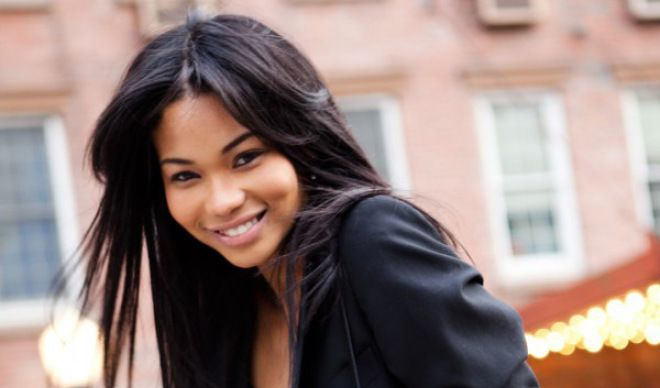 Channel Iman - half black half asian celebrity