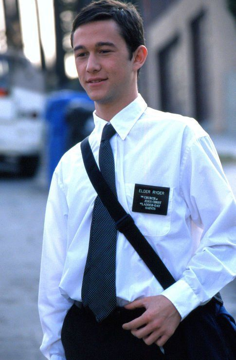 "Joseph Gordon-Levitt portrays the character of elder Paul Ryder in the movie ""Latter Days""......."