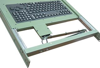 108 Keys Water-Proof Rack Mount Keyboard We customise these ODM cases and give you the product according to your requirement here.  #rackmount #portablecomputers #ODM