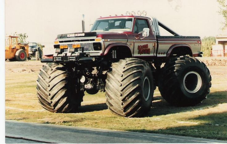 KING MONSTER TRUCK | King Kong was one of the original monster trucks, possibly the first ...