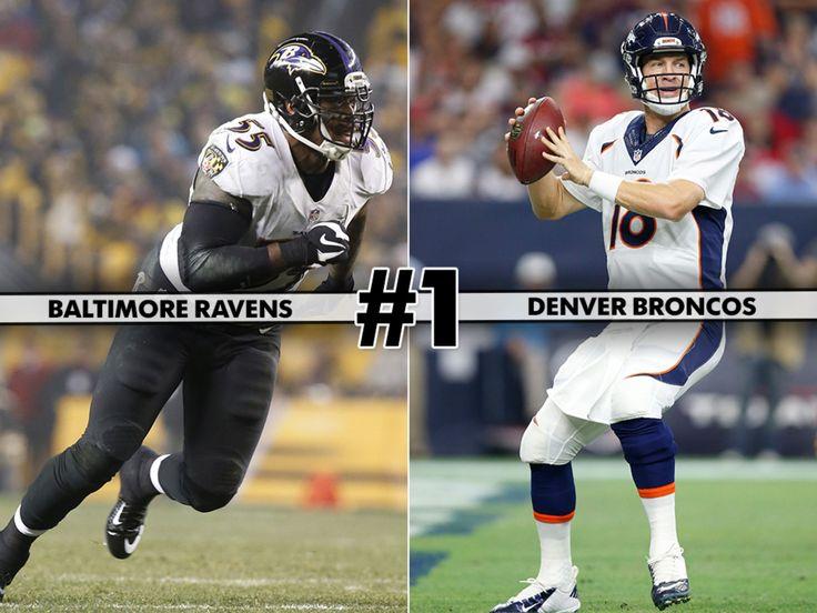 NFL Week 1 games ranked by watchability  - Denver WON!!!!