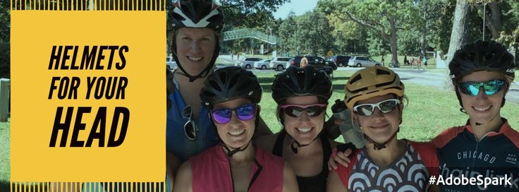 Whenever you're riding a bike, you should be wearing a helmet. Whenever we ride outside, we are sharing the road with many other users and are confronted with uncontrollable factors such as weather…