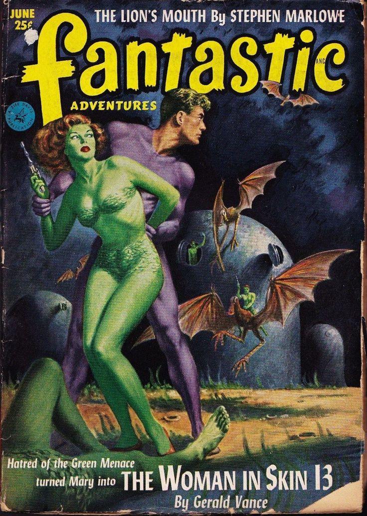 Fantastic Adventures Magazine - June 1952