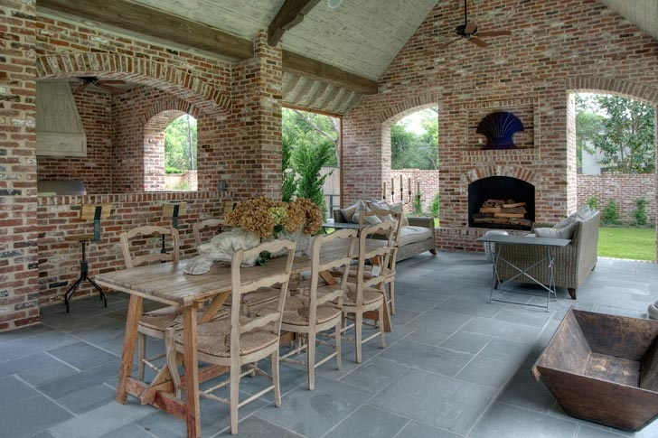French Acadian & Country French Design   Tracy Design Studio