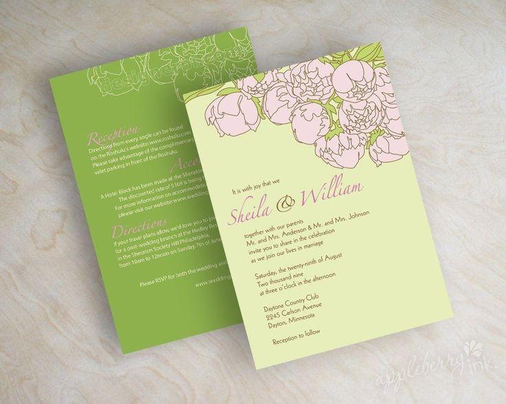 15 best free wedding invitation samples images on Pinterest - free wedding invitation samples by mail
