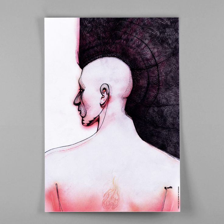 Image of Plakat I I won't cut my mohawk