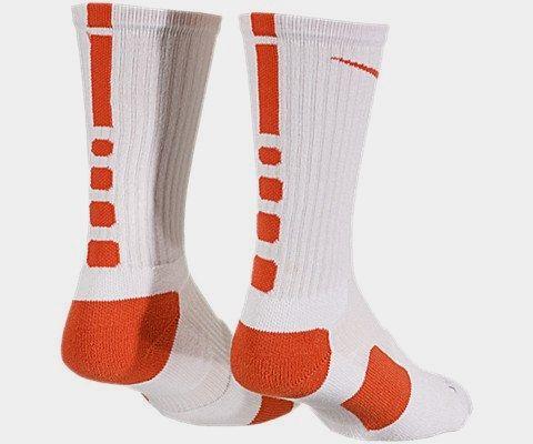 Nike Elite Socks Made by #Nike Color #White/Team Orange/Team Orange