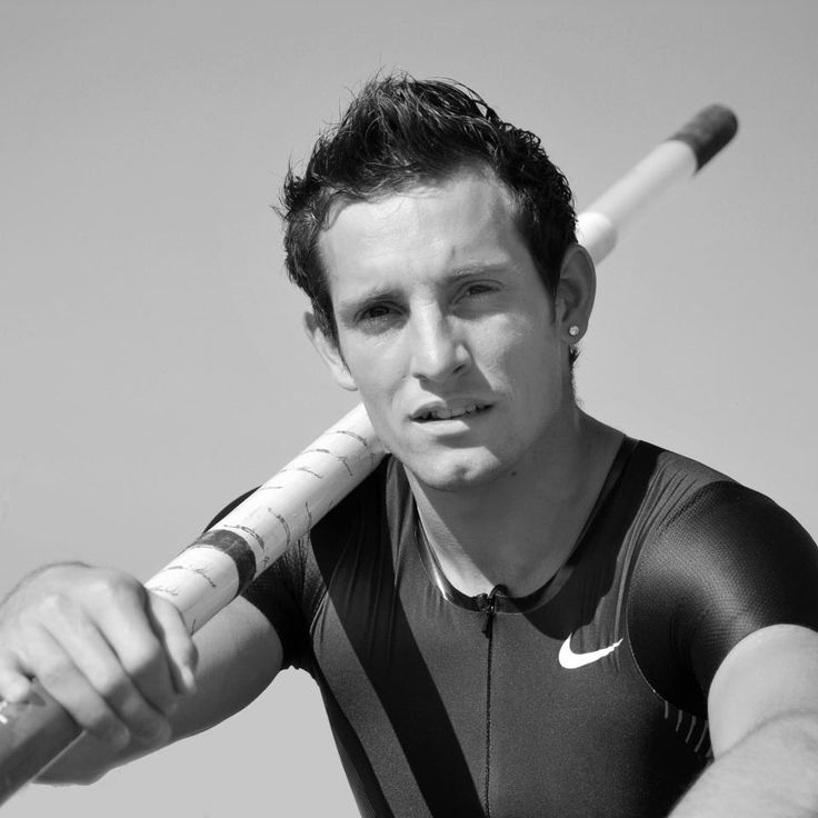 Renaud Lavillenie - French pole vaulter
