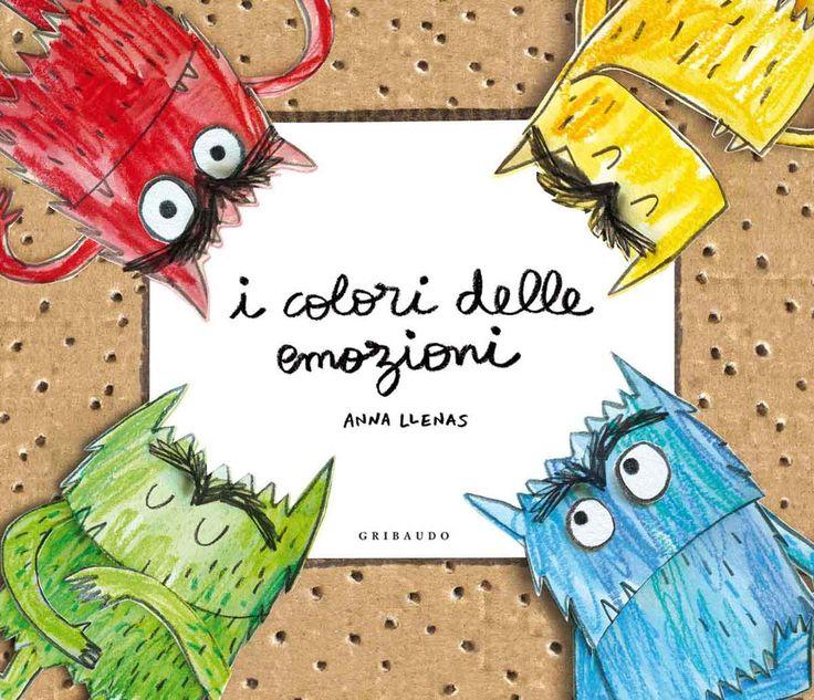 """Il Mostro dei colori en pop-up arriva a ITÀLIA i es diu: """"I colori delle emozioni"""""""