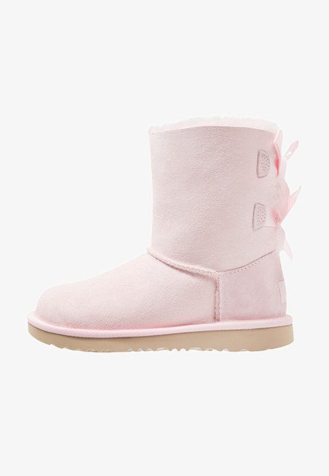 31dbdafb29e UGG BAILEY BOW II - Lace-up ankle boots - seashell pink - Zalando.co.uk