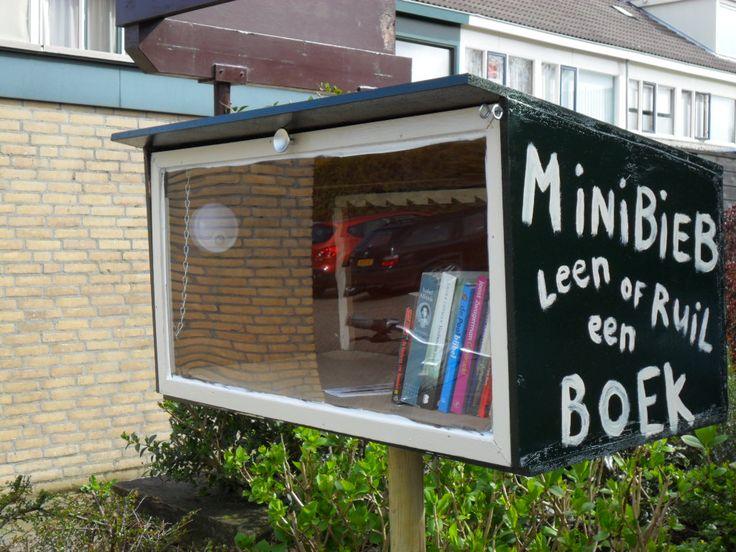 Minibieb , Fedde Schurerwei, Leeuwarden.