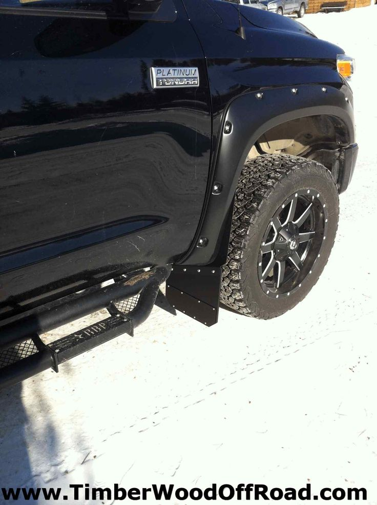 Premium Quality Marine Grade Aluminum Mud Flaps For All Trucks Black Powder Coated For Durability And Great Looks These Can Outlast The Truck