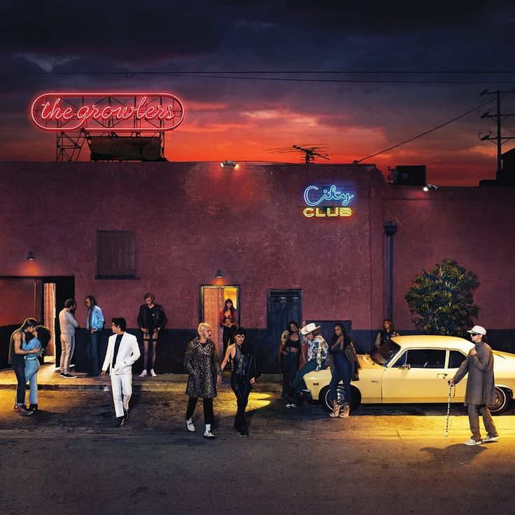 The Growlers City Club Vinyl 2LP 2016 release from the Orange County indie rock band. The album was produced by Julian Casablancas (The Strokes/The Voidz) and Shawn Everett (2016 Grammy winner for wor