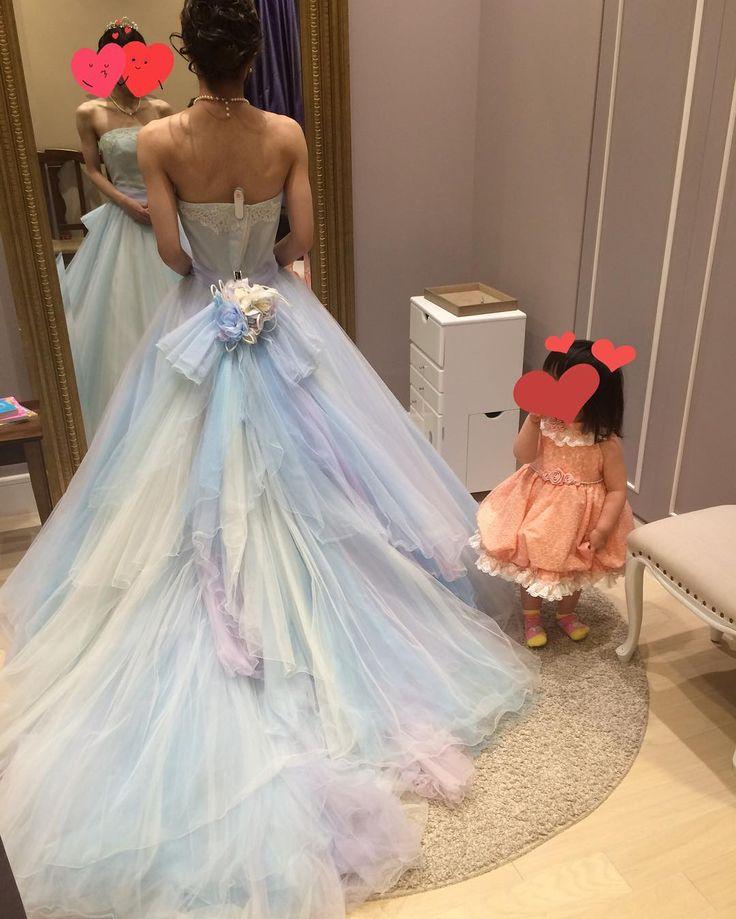 #wedding#ウエディング#ウエディングドレス#ウエディングドレス試着#カラードレス#カラードレス試着#タカミブライダル  CD by clover123happy
