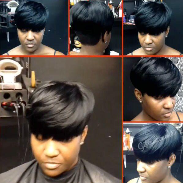 67 best mushroom haircuts images on pinterest braids hairstyles natural mushroom short cut by giftedtouch urmus Gallery