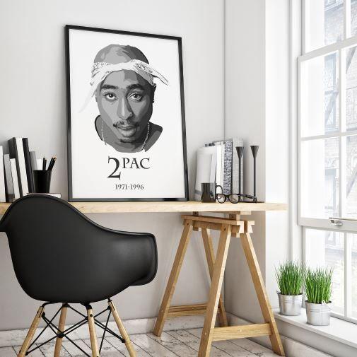 Tupac Shakur print Tupac poster Tupac print Tupac by ProdigyPrints