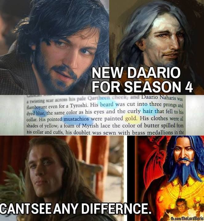 New Daario Naharis for season 4 #GameOfThrones Daario ... Daario Naharis Season 4