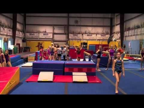 ▶ Moving from Handstand Flat Back to Front Handspring Vault - YouTube