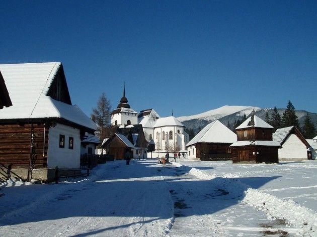 Liptov Village Museum, Pribylina, Slovakia
