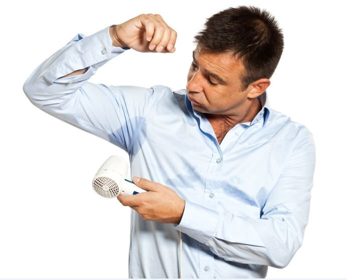 Stop Using Antiperspirant to Treat Excessive Sweating
