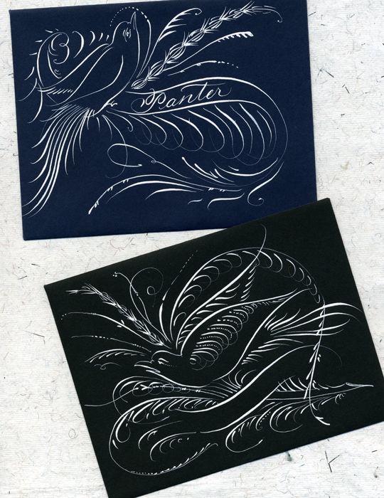 J. Panter Calligraphy | Portfolio II