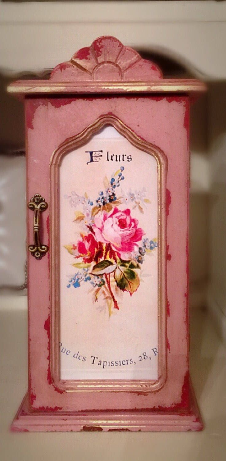 Pretty Jewelry Box 169 Best Jewelry Boxes Vintage Handpainted Images On Pinterest