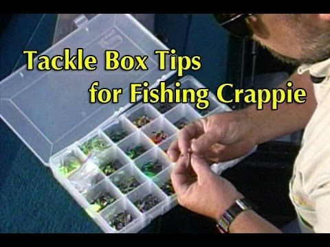 Tackle Box Tips for Fishing Crappie