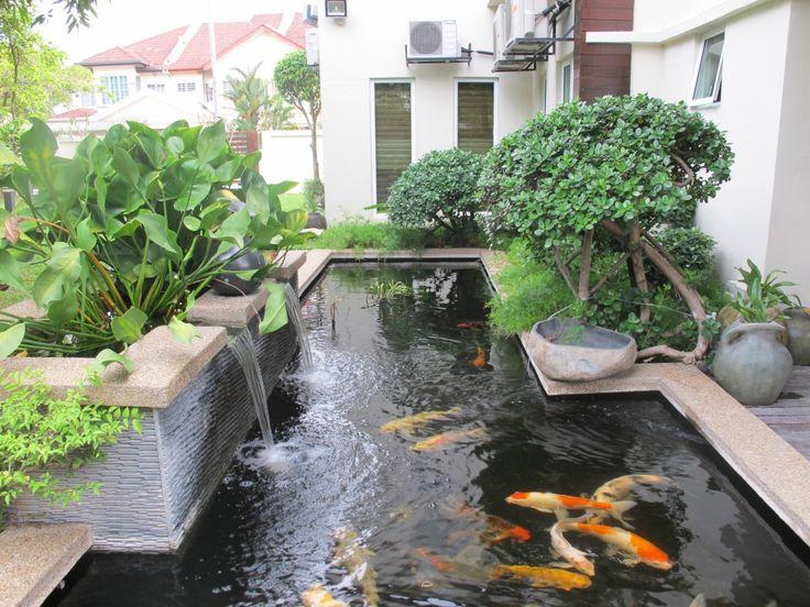 Best 25+ Koi pond design ideas on Pinterest | Koi ponds, Koi fish ...