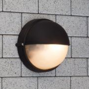 € 8,50 | Zwarte buiten wandlamp Alette - Lampgigant.nl