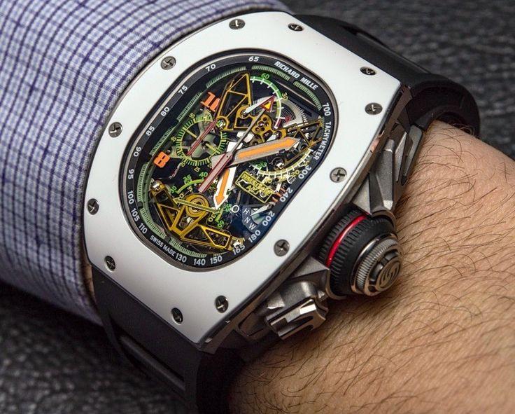 Richard Mille RM 50-02 ACJ Tourbillon Split Seconds Chronograph Watch For Airbus Corporate Jets Hands-On