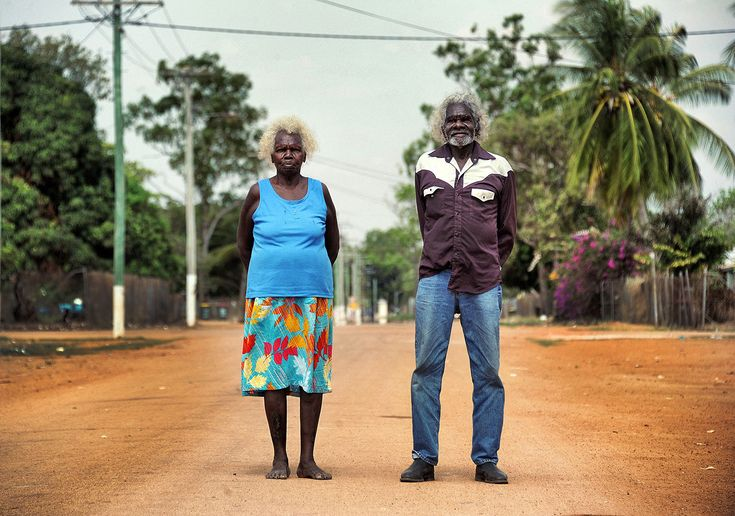 Rebecca and Silas Wolmby, Elders, Aurukun, Cape York Peninsula | ph. Brian Cassey