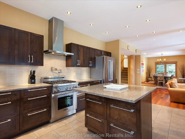 Whistler Resort Vacation Rentals - Ski in, ski out mountainside luxury home sleeps 15. With great kitchen for your home cooking away from home.