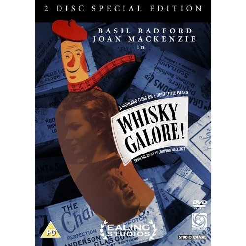 Whisky Galore 1949 The name of the real ship that sunk Feb 5 1941 - during WWII - was S/S Politician. Having left Liverpool two days earlier, heading for Jamaica, it sank outside Eriskay, The Outer Hebrides, Scotland, in bad weather, containing 250,000 bottles of whisky. The locals gathered as many bottles as they could, before the proper authorities arrived, and even today, bottles are found in the sand or in the sea every other year.
