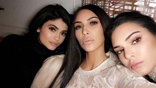 Imagen de kim kardashian, kendall jenner, and kylie jenner