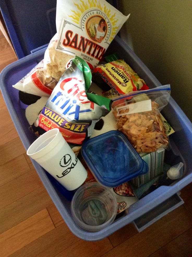 Easy vacation meal planning ideas Totes to protect all those crushable items in transit-brilliant!