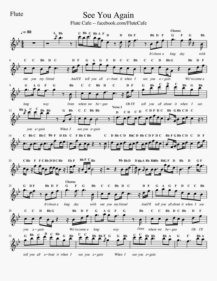 All Music Chords part of your world sheet music free : 39 best Flute images on Pinterest | Sheet music, Flute sheet music ...